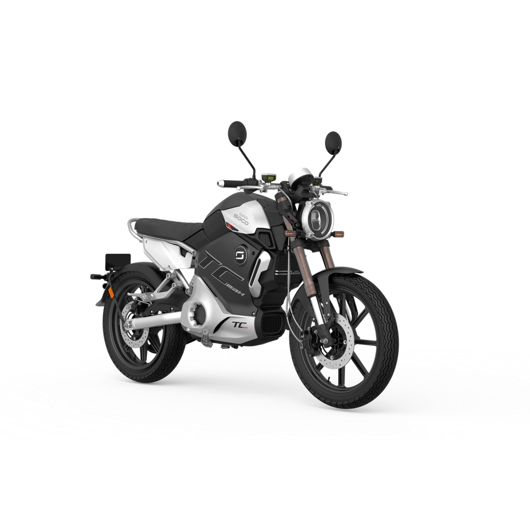 Shanghai firm Super SOCO reveals all new electric bike TC