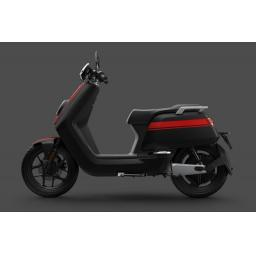 Niu NQiGTs Pro Electric Moped Black Red LHS