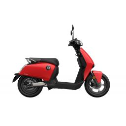 Super Soco CUx Electric Moped Red Right