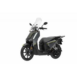 Super Soco CPX Electric Moped Grey Front Left