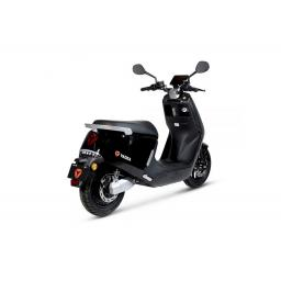 Yadea G5 Electric Moped Black Rear Right