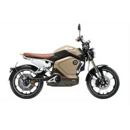 Super Soco TC Electric Motorcycle Yellow Right