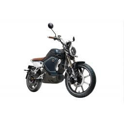 Super Soco TC Electric Motorcycle Blue Front Right