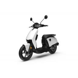 Super Soco CUx Electric Moped White Front Left
