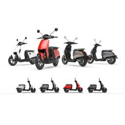 Super Soco CUx Electric Moped Lineup