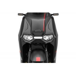 Super Soco CPX Electric Moped Front Light Details