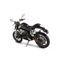 Super Soco TSx Electric MotorCycle Black Rear Left