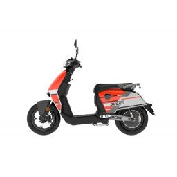 Super Soco CUx Ducati Edition Electric Moped Left