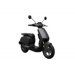 Super Soco CUx Electric Moped Grey Front Right