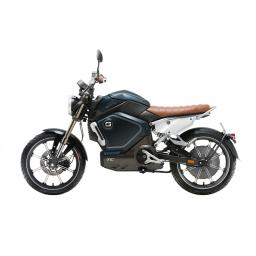 Super Soco TC Electric Motorcycle Blue Left