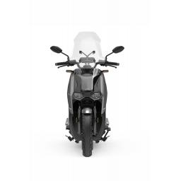 Super Soco CPX Electric Moped Silver Front