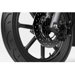 Super Soco CPX Electric Moped Front Brake Detail