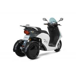 ECCity Model 3 Electric Motorcycle White Rear RHS.jpg