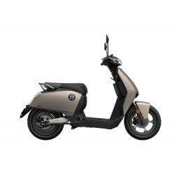 Super Soco CUx Electric Moped Silver Right
