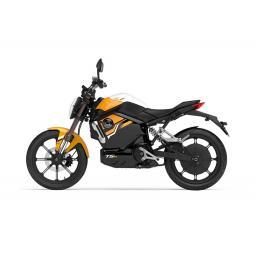 Super Soco TSx Electric MotorCycle Orange Left