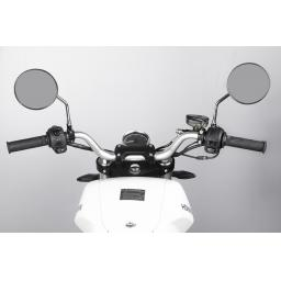 Horwin CR6 Electric Motorcycle White Dashboard