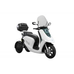 ECCity Model 3 Electric Motorcycle White with Top Box.jpg