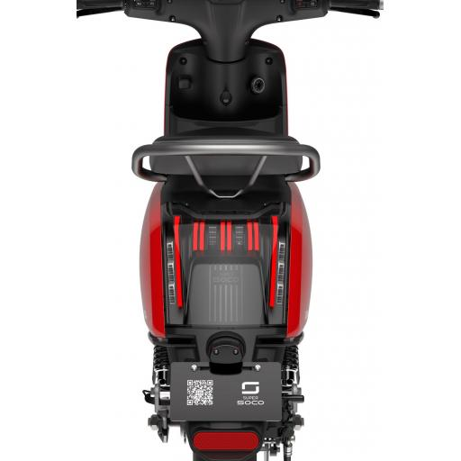 Super Soco Electric Moped Rear View
