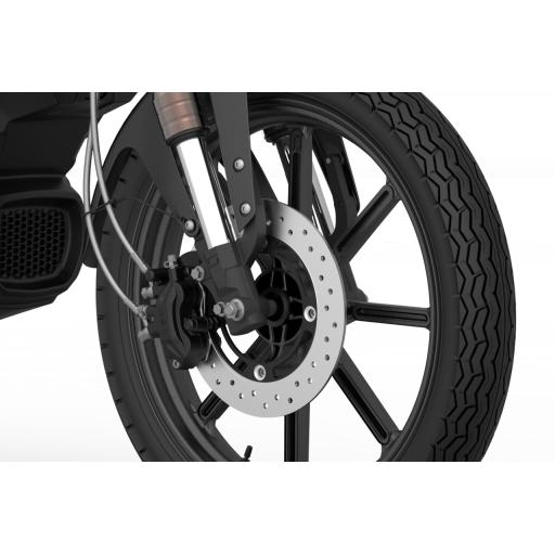 Super Soco TC Max Electric Motorcycle Allow Front Wheel