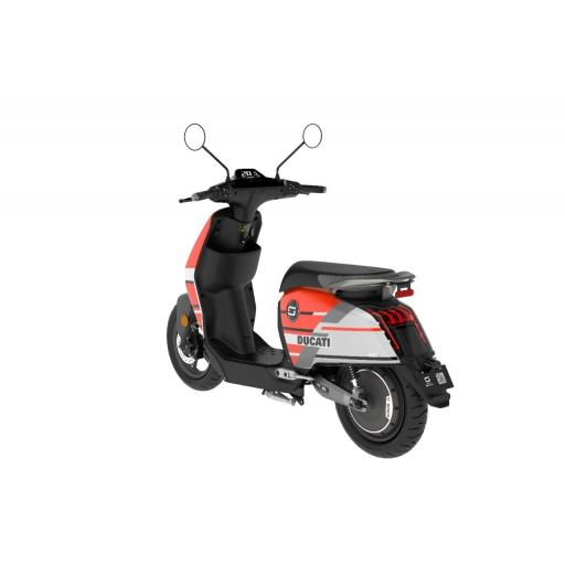 Super Soco CUx Ducati Edition Electric Moped Rear Left