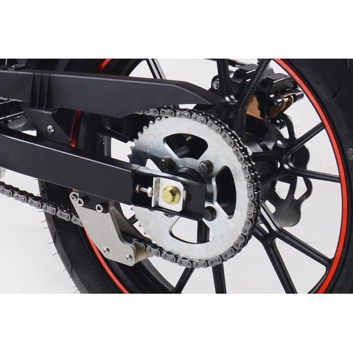 Kollter Tinbot ES1-S Pro Electric Motorcycle Detail Rear Wheel