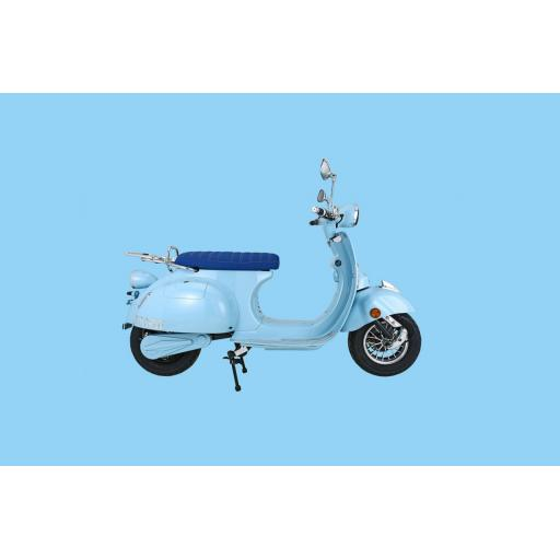 Artisan Electric EV2000r Scooter Sky Blue