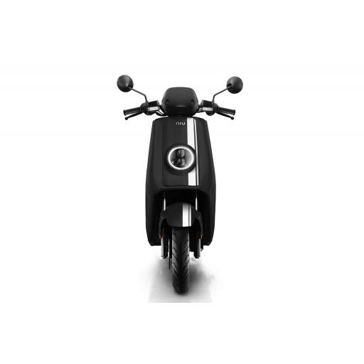 Niu NQiGTs Pro Electric Moped Black White Front