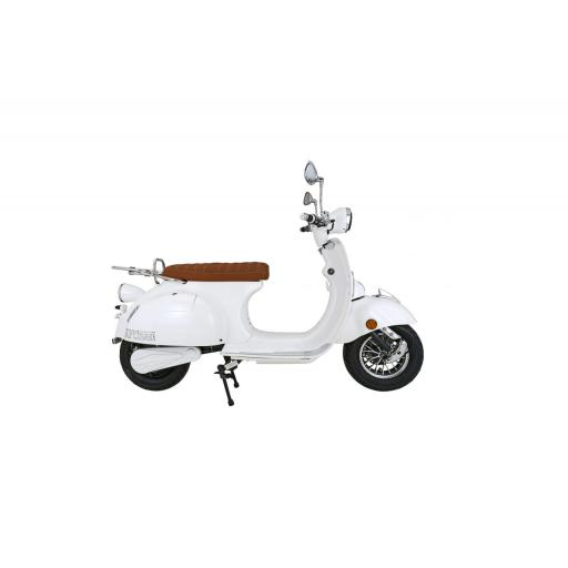 Artisan EV2000R Electric Scooter White Right