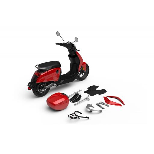 Super Soco CUx Electric Moped Accessories