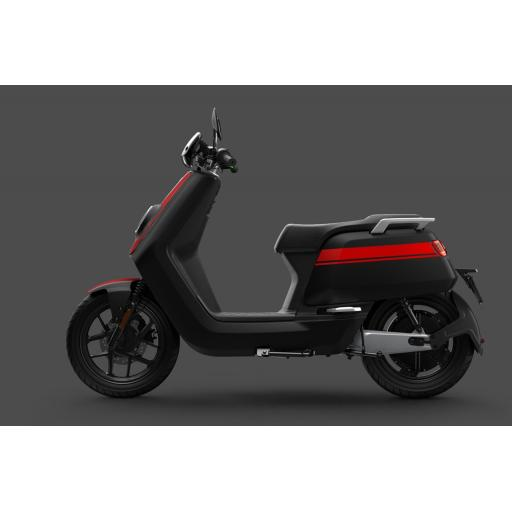 Niu NQiGTS Sport Electric Moped Red Black