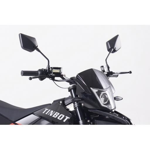 Kollter Tinbot ES1-S Pro Electric Motorcycle Detail Handlebars