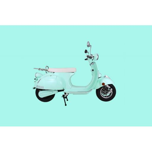 Artisan EV2000R Electric Scooter Mint Green Right
