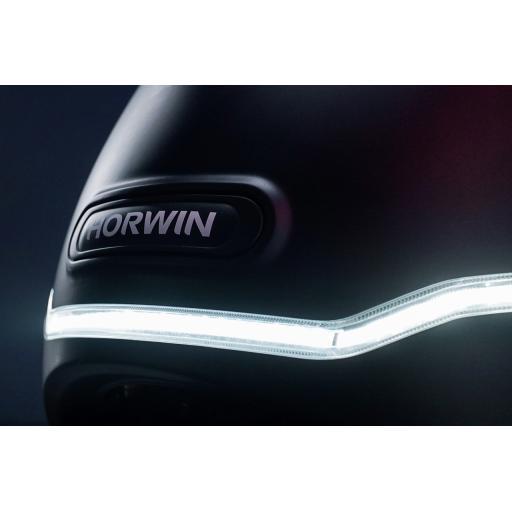 Horwin EK3 Electric Moped Front Light Detail