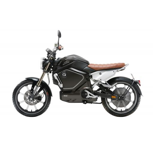 Super Soco TC Electric Motorcycle Black Left