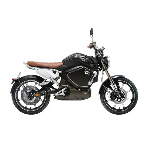 Super Soco TC Electric Motorcycle Black Right