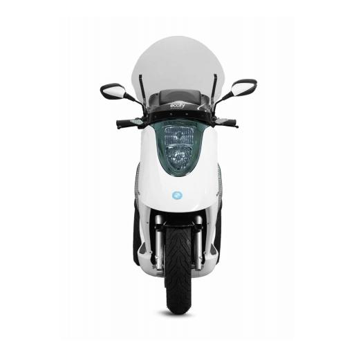 ECCity Model 3 Electric Motorcycle White Front.jpg