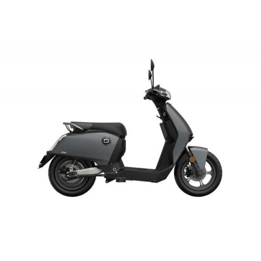 Super Soco CUx Electric Moped Grey Right