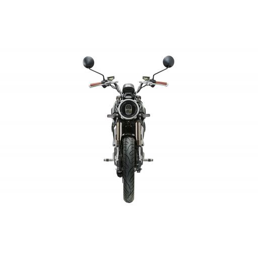 Super Soco TC Electric Motorcycle Black Front
