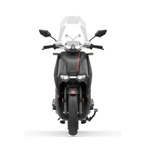 Super Soco CPX Electric Moped Black Front