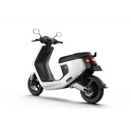 MQi+ Sport Electric Moped White Rear Left 1280 x 853