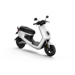 MQi+ Sport Electric Moped White Front Right 1280 x 853