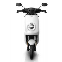 MQi+ Sport Electric Moped White Front 1280 x 853
