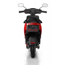 MQi+ Sport Electric Moped Red Rear 1280 x 853