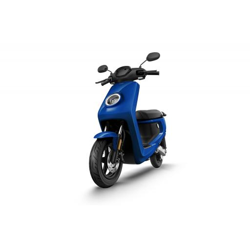 MQi+ Sport Electric Moped Blue Front Left 1280 x 853
