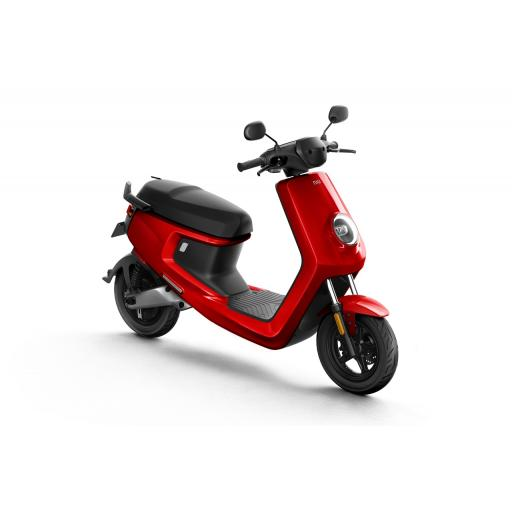 MQi+ Sport Electric Moped Red Front Right 1280 x 853