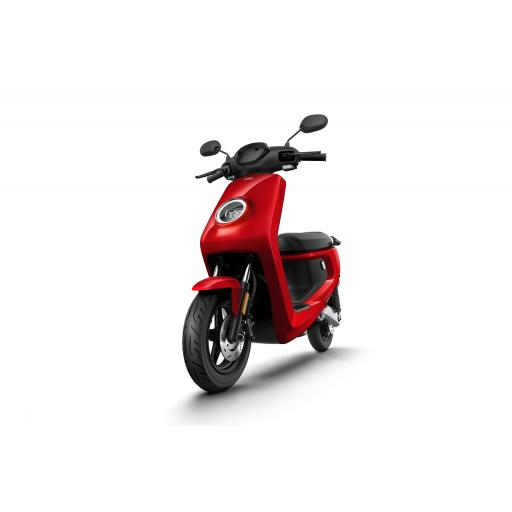 MQi+ Sport Electric Moped Red Front Left 1280 x 853