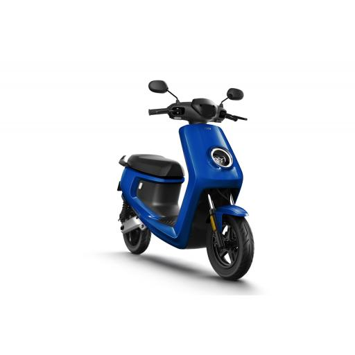 MQi+ Sport Electric Moped Blue Front Right 1280 x 853