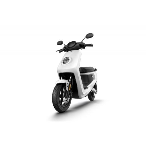 MQi+ Sport Electric Moped White Front Left 1280 x 853