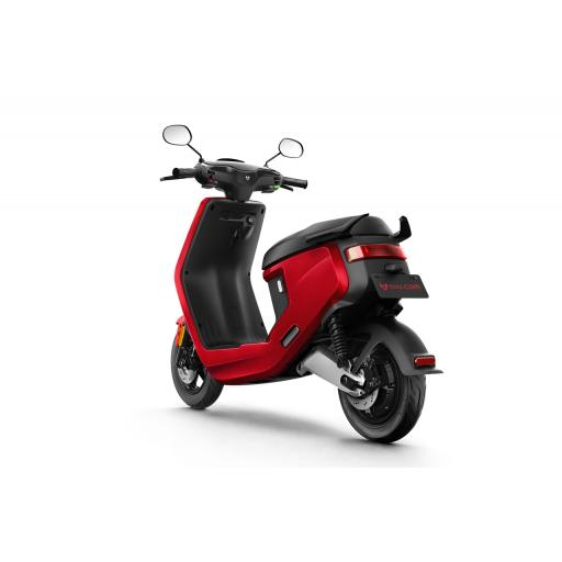 MQi+ Sport Electric Moped Red Rear Left 1280 x 853