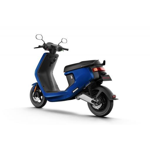 MQi+ Sport Electric Moped Blue Rear Left 1280 x 853